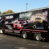 Full wrap, Roush-Fenway Racing hauler.